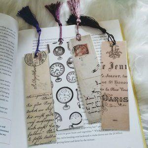 Vintage Handmade Bookmarks